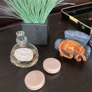 Valentina 80ml EDP with 2 New Perfumed Soaps